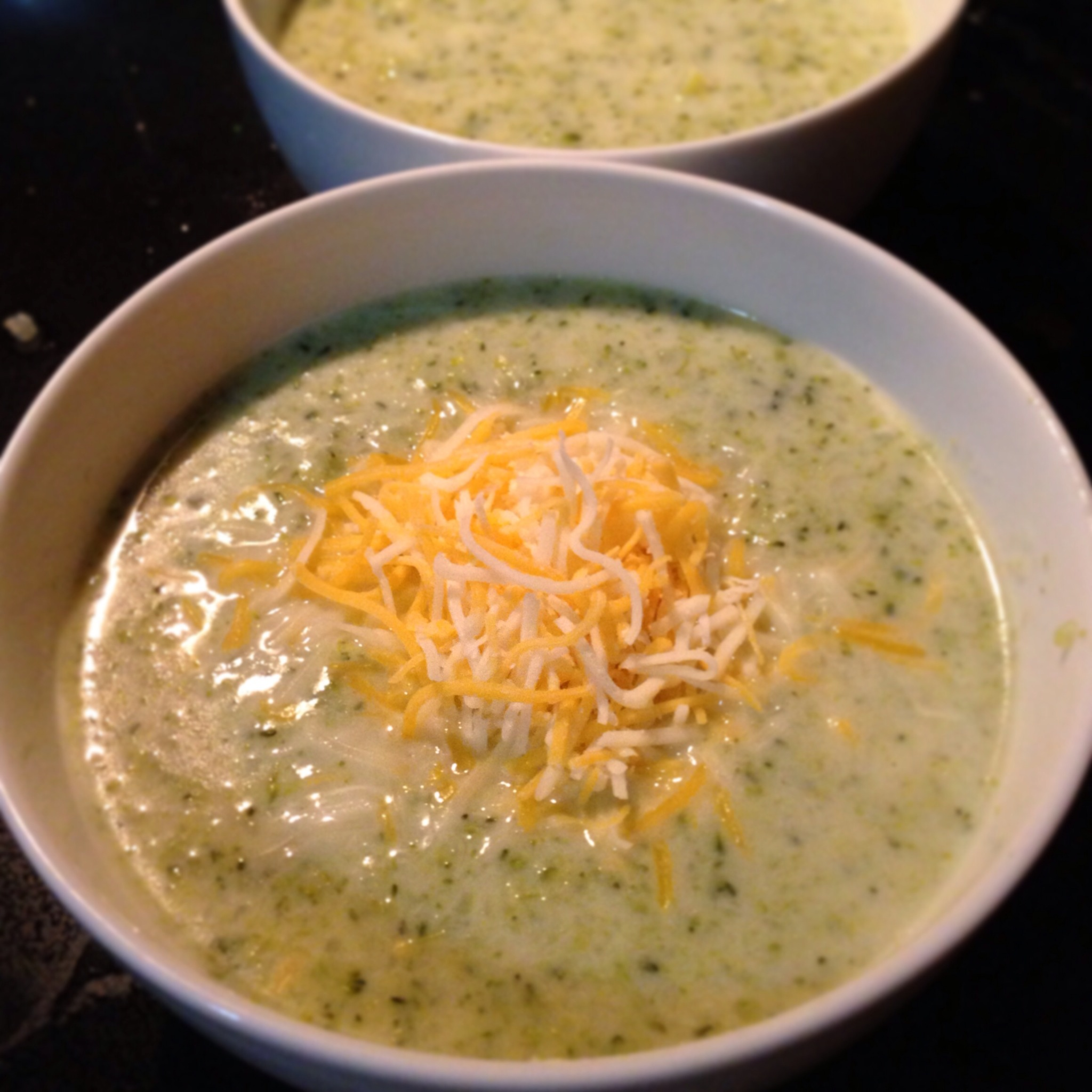 Broccoli Soup with Cheese