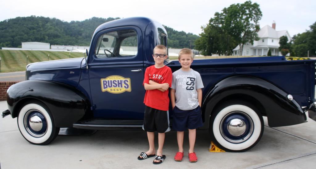 Bush's truck
