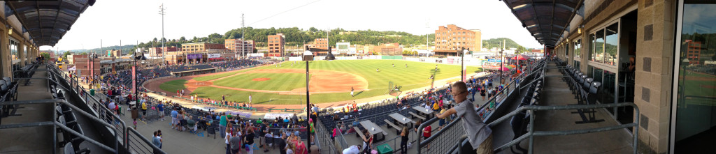 Appalachian Power Park Panoramic