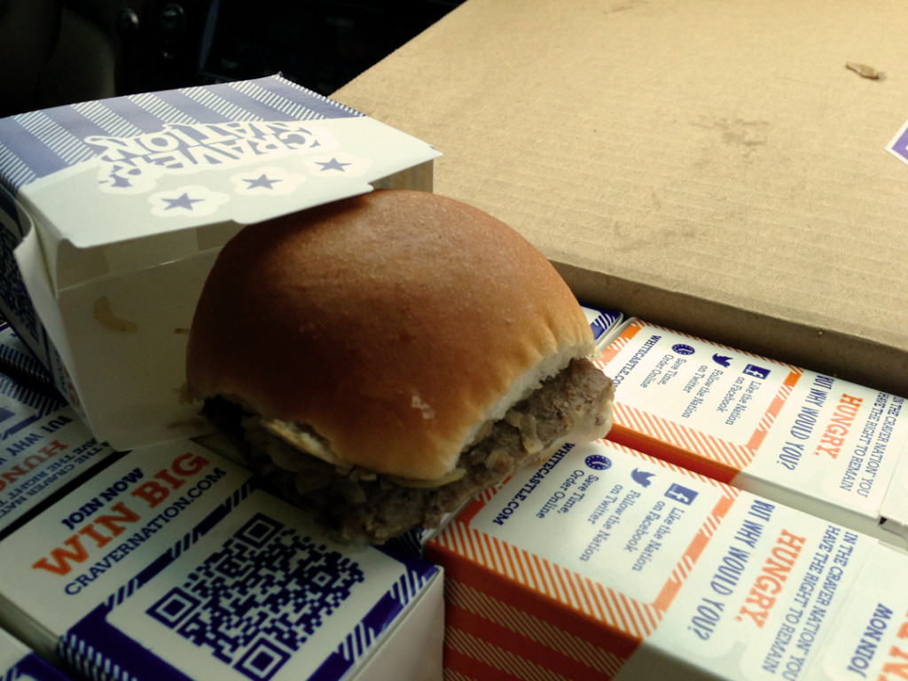 YUM! White Castle!