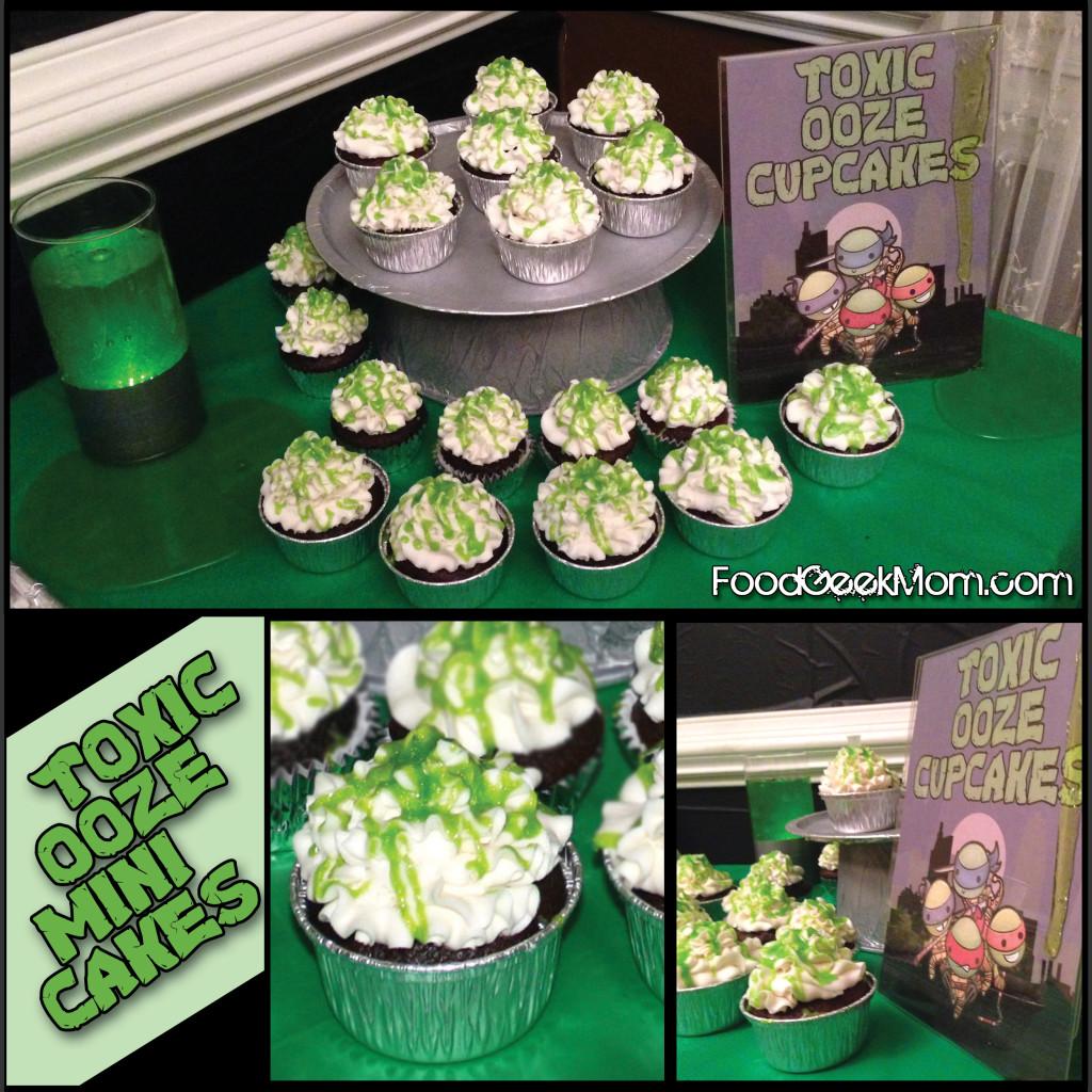 TMNT Mini Cakes (cupcakes)