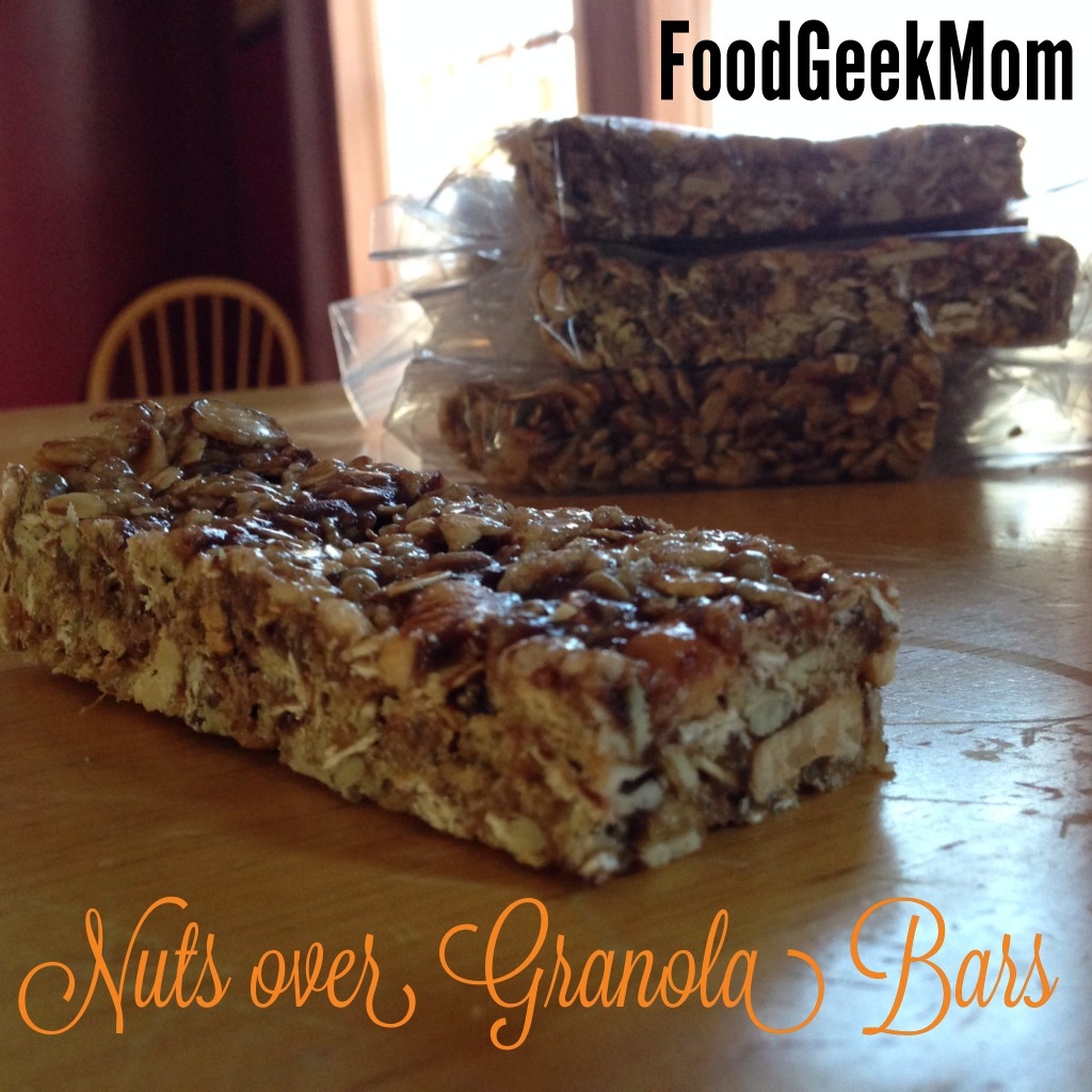 Nuts over Granola Bars